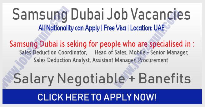 Secure a Career with Samsung Dubai Jobs